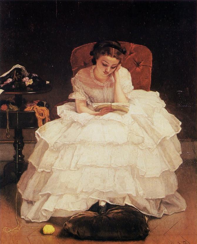 Jeune-femme-lisant-alfred-stevens